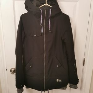 Black Orage Ski/Snowboard Jacket
